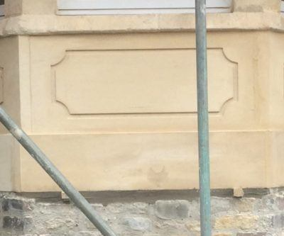 Stone Panel To Bay Window